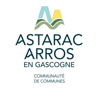 logo de la communauté de communes Astarac Arros en Gascogne