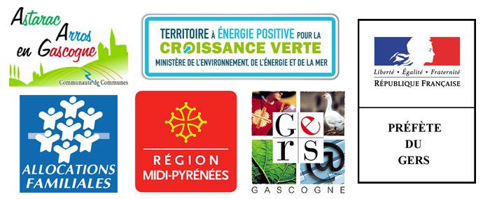 Communauté de communes Astarac Arros en Gascogne, région Occitanie, département du Gers, préfecture du Gers et C.A.F du Gers