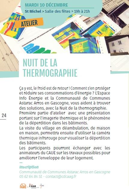 Nuit de la Thermographie